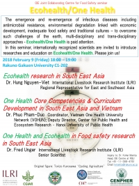 Ecohealth and One Health Research Sharing in Japan